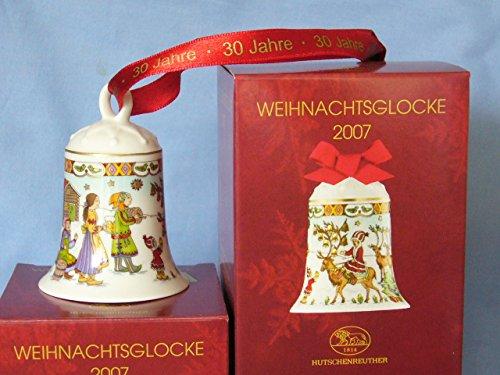 Preisvergleich Produktbild Hutschenreuther - Weihnachtsglocke 2007 Porzellan - Glocke - NEU - OVP