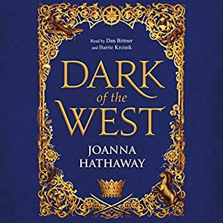 Dark of the West     Glass Alliance, Book 1              By:                                                                                                                                 Joanna Hathaway                               Narrated by:                                                                                                                                 Barrie Kreinik,                                                                                        Dan Bittner                      Length: 14 hrs and 56 mins     1 rating     Overall 2.0