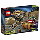 Lego DC Comics Super Heroes Batman The Joker Steam Roller
