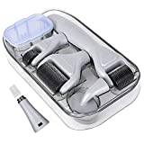 Derma Roller 6 IN 1 Kit for Face Body, Derma Roller Kit with Replacable Roller Heads for Home Use