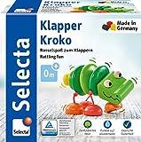 Selecta 61044 Klapper-Kroko, Greifspielzeug, 10 cm -