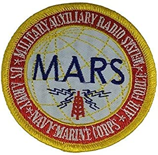 Embroidered Patch - Patches for Women Man - Military Auxiliary Radio System Mars US Army USAF AIR Force