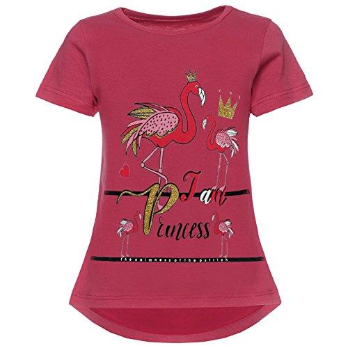 BEZLIT Mädchen T-Shirt Kurzarm Strech 21845 Pink Größe 116
