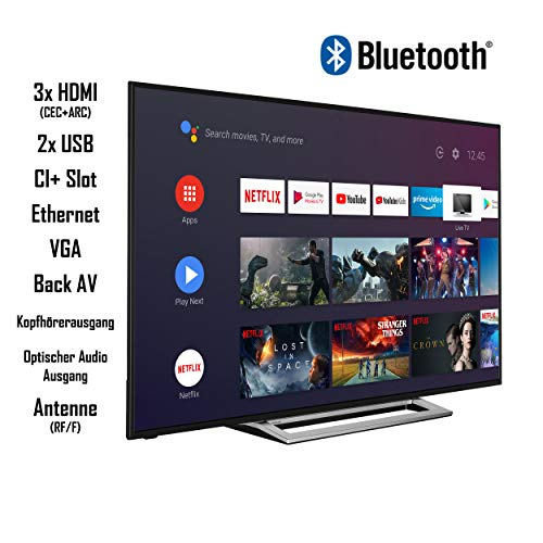 Toshiba Téléviseur LED 65UA3A63DG 10124304 164 cm (65 Pouces) DVB-T2, DVB-C, DVB-S, UHD, Smart TV, Wi-FI, CI+ ULT