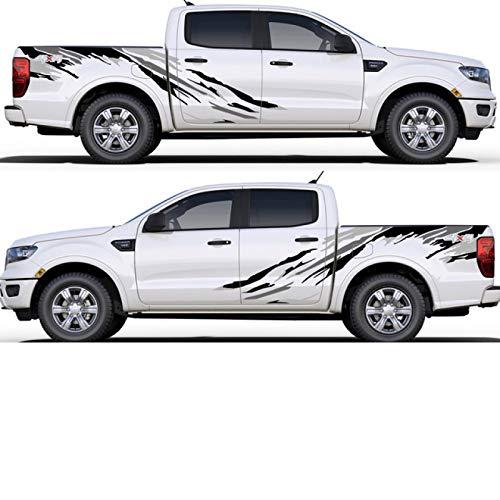 para Ford Ranger Raptor Pickup Isuzu DMA Nissan NAVARA, para Toyota Hilux Pegatinas de Coche Auto Tuning calcomanías Completas Accesorios de Coche