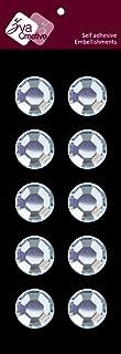 Zva Creative CRW-05CA-169 Crystal Sticker, Clear Individuals