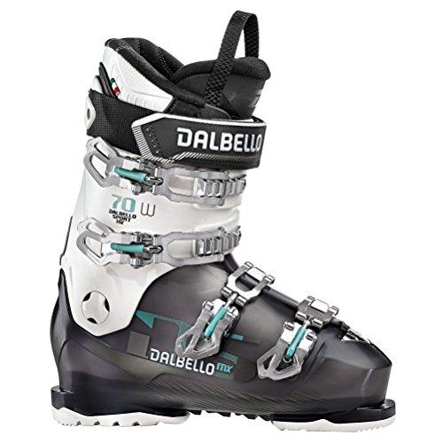 Dalbello DS MX 70 W Womens Ski Boots - 24.5/Black Transparent-White