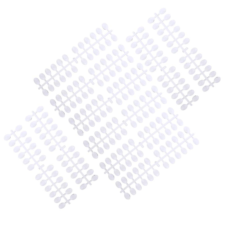 キャメル住居柱P Prettyia 10個 ネイルアート カラー表示 カード ディスプレイチャート 3タイプ選べ - 2×1.5cm
