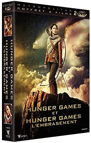 Coffret hunger games : hunger games ; hunger games 2 : l'embrasement