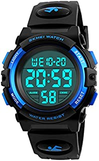 Kid's Digital Watch Outdoor Sports 50M Waterproof...