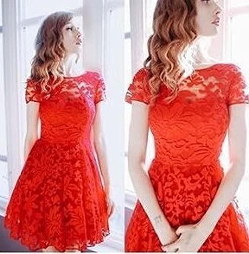 Vestido Falda Vestido Informal De Ganchillo De Encaje para M