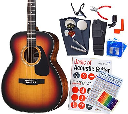 モーリス アコギ 初心者 ハイグレード 16点 セット MORRIS F-351 I アコースティックギター RBS [98765] 【...