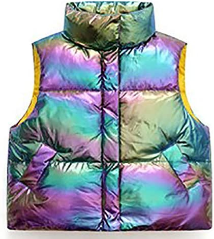 Toddler girl boy vest jacket Fashion Zipper Sleeveless kids puffer vest Fall Winter Outfit Clothes product image