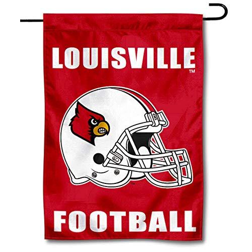 Louisville Cardinals Football Garden Flag and Yard Banner