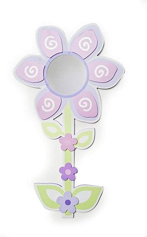 Babies R Us Mirror Baby Girl Flower Wall Decor Pink