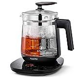 ICOOKPOT Multi-Use Electric Kettle Borosilicate Glass Tea Maker and Programmable Control...