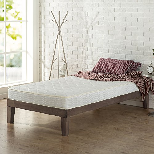 Zinus 6 Inch Foam and Spring Mattress / CertiPUR-US Certified Foams / Mattress-in-a-Box, Twin XL