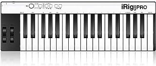 IK Multimedia iRig Keys Pro کنترلر MIDI 37 کلید تمام عیار برای iPhone ، iPad ، Android و Mac / PC