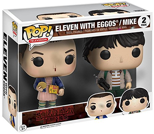 Funko POP! Stranger Things: Eleven y Mike