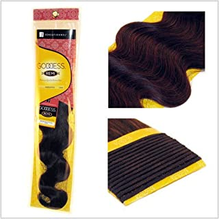 Sensationnel Goddess Body Wave Remy Weaving for Hair Extensions 14