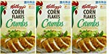 Kellogg's, Corn Flake Crumbs, 21oz Box (Pack of 3)
