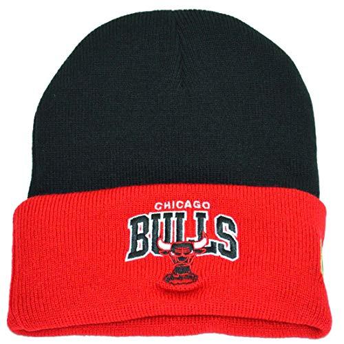 Mitchell & Ness HWC Team Arch Logo Knit Chicago Bulls Black/Red