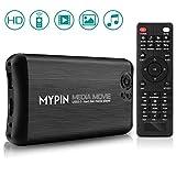 MYPIN Digital Multimedia Player Mediaplayer Box HDMI / AV / VGA, riproduzione video e foto con chiavetta USB / scheda SD / hard disk / dispositivi esterni (supporta USB 3.0)