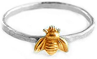 LALANG Europe and America Simple Bee Shape Woman Elegant Casual Finger Ring