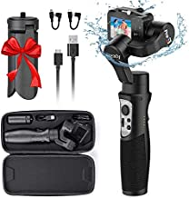 3-Axis Handheld Gimbal Stabilizer for GoPro 8 Action Camera, Splash Proof Wireless Control Gimbal Tripod Stick for Gopro 8/7/6/5/4, Osmo Action,SJ CAM,YI Cam,Sony RX0 – Hohem iSteady Pro3