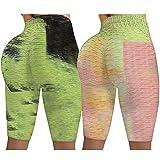 ayaso Leggings sportivi a vita alta, pantaloni da yoga, opachi, per fitness, jogging, jogging, a vita alta Verde menta M