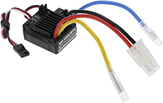 Goolsky WP-1060-RTR Waterproof Brushed 2S-3S 60A ESC for 1/10 Tamiya Traxxas Redcat HSP HPI RC Car