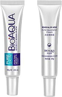 Volking Crema antiacné Crema para Eliminar Cicatrices de acné Crema para Eliminar Cicatrices y Marcas de acné Crema par...
