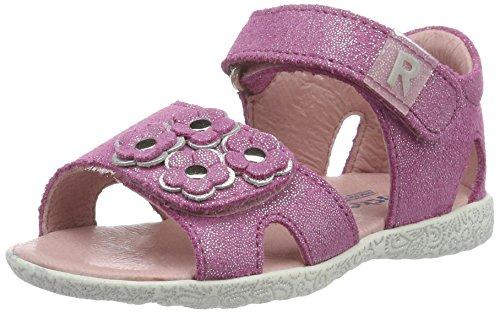 Richter Kinderschuhe Sissi S, Chaussures Marche Bébé garçon, Pink Lollypop Silver, 21 EU