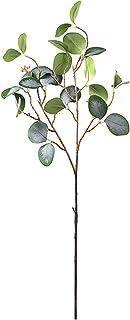 PAKUES-QO Plante Artificielle 1Pc Simulation Verte Eucalipto Branches Artificielles Plante Artificielle Eucalyptus Faux Fe...