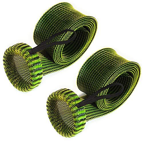 Reazione Tackle Canna da Pesca di Alta qualità Canna da Pesca Asta calzino (Confezione da), Swamp Green