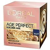 L'Oréal Paris - Age Perfect - Golden Age - Soin Nuit Re-Fortifiant - Anti-Relâchement & Eclat - Peaux Matures - 50 mL