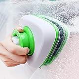 LZH FILTER Limpiacristales Magnético, Limpiador de Vidrio Magnético de Doble Cara con Cuerda Anti-Caída para Ventanas de Vidrio Grandes de Altura con Un Espesor de 5 a 26 mm