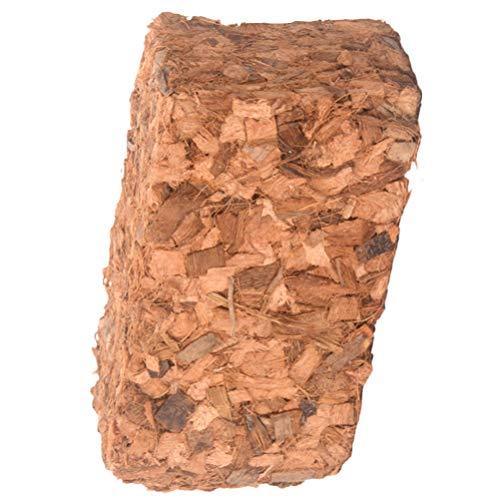 DOITOOL 500 g cegły kokosowe skompresowany blok torfowy z włókna kokosowego cegła roślina ziemia do ogrodu warzyw kwiaty sadzenie