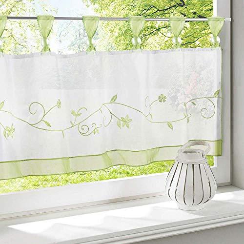 cortinas cocina ventana vintage
