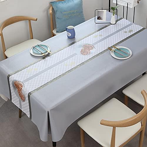 sans_marque Paño de mesa, paño de mesa de color sólido paño de mesa, a prueba de polvo y a prueba de encogimiento, utilizado para la decoración de mesa de picnic de la cocina 140* 140cm