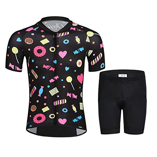 cheji Cycling Jersey Kids (CJ-BT-CJ1277T-4, M)
