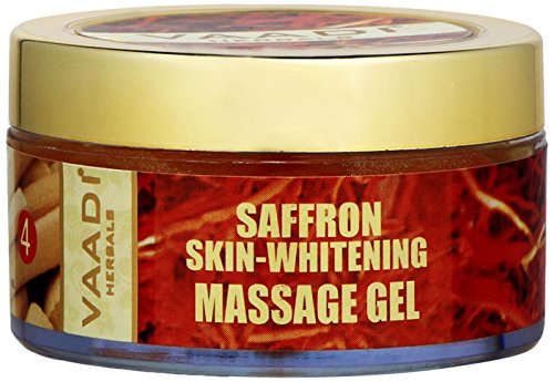 Buy Bargain Vaadi Herbals Massage Gel - All Natural Herbal Gel - 50 Grams - (Saffron Skin-Whitening ...