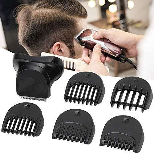 Juego de peines de fijación Peine Guía De Corte, cabezal de corte de barba compatible con maquinilla de afeitar eléctrica + peine guía de 5 piezas con Braun Series 3 BT32 cabezal de afeitado