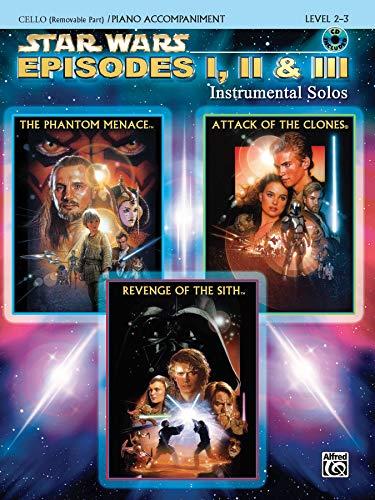 Star Wars - Episodes I, II & III (Cello/Piano)