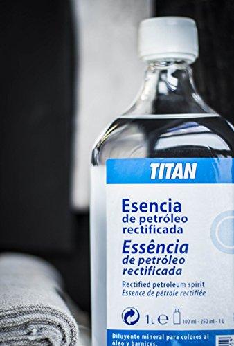 ESENCIA DE PETROLEO RECTIFICADA TITAN DE 100 ML