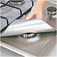 4-Pack TastyHome Gas Stove Burner Protector Liner Cover