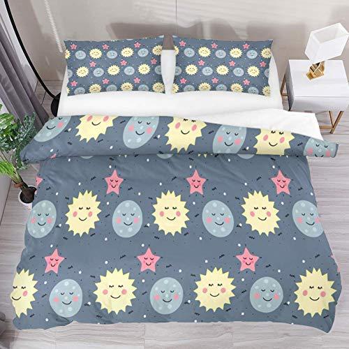 N \ A Juego de ropa de cama de 3 piezas con diseño de carpa tribal y flecha, funda de cama con 2 fundas de almohada con cierre de cremallera para niños y adolescentes