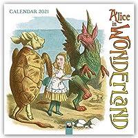 Alice in Wonderland Wall Calendar 2021 (Art Calendar)