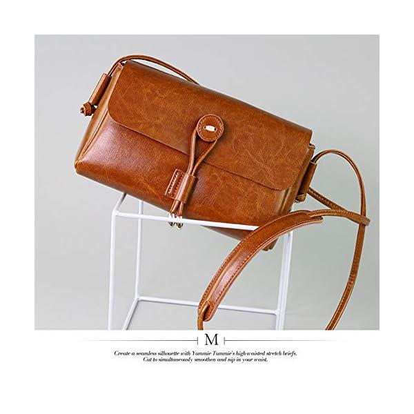 51Og+f ILNL. SS600  - Leathario Bolso Hombro Mujer Cuero Bandolera de Mano Pequeño Casual Moda Shopper