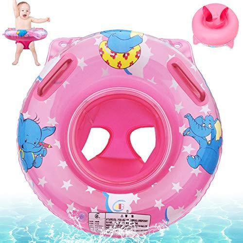 Baby Schwimmring,Rosa Baby Float schwimmreifen,Aufblasbarer schwimmreifen Kleinkind,Baby schwimmring mit schwimmsitz,Float Kinder Schwimmring,Aufblasbare Schwimmen,Kinder Schwimmreifen Spielzeug